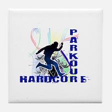 Free Running Parkour Hardcore Tile Coaster