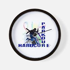 Free Running Parkour Hardcore Wall Clock