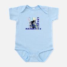 Free Running Parkour Hardcore Infant Bodysuit