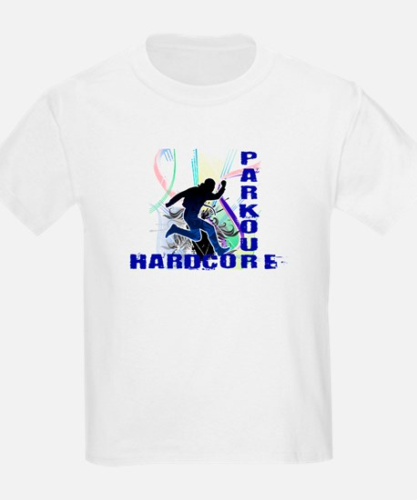 Free Running Parkour Hardcore T-Shirt
