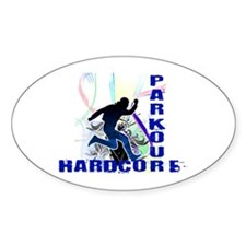 Free Running Parkour Hardcore Decal