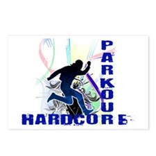 Free Running Parkour Hardcore Postcards (Package o