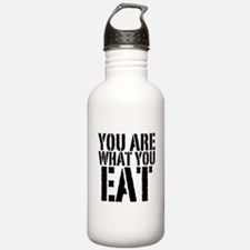 You are what you eat Water Bottle