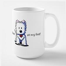 Westie Heartbeat Mug