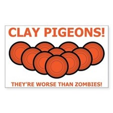 Pigeon Zombie Decal