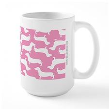 Cute Dachshund Pattern Mug