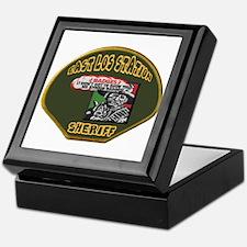 East Los Station Sheriff Keepsake Box