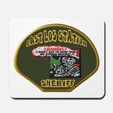 East Los Station Sheriff Mousepad