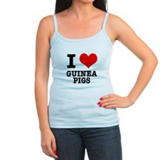 I Heart (Love) Guinea Pigs Jr.Spaghetti Strap