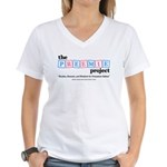 The Preemie Project Women's V-Neck T-Shirt