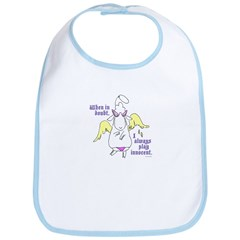 Innocent Dolores Bib