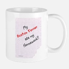 Boston Homework Mug
