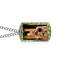 Pekingese Dog Christmas Dog Tags