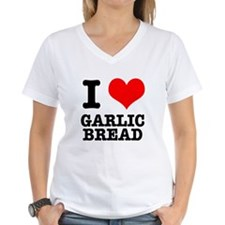 I Heart (Love) Garlic Bread Shirt