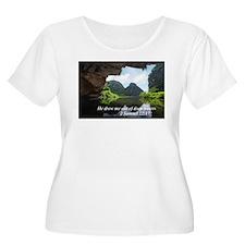 Water Plus Size T-Shirt