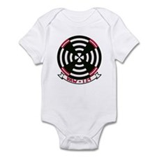 VAW 124 Bare Aces Infant Bodysuit