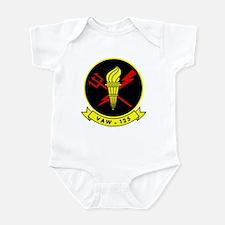 VAW 125 Tigertails Infant Bodysuit