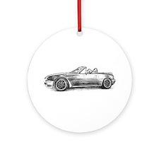 silver shadow mx5 Ornament (Round)