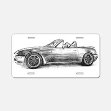 silver shadow mx5 Aluminum License Plate