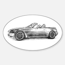 silver shadow mx5 Bumper Stickers