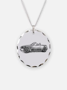 silver shadow mx5 Necklace