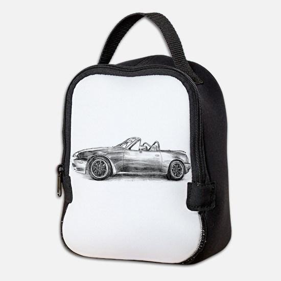 silver shadow mx5 Neoprene Lunch Bag