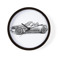 silver shadow mx5 Wall Clock