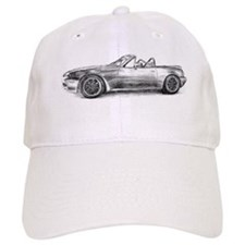 silver shadow mx5 Baseball Baseball Cap