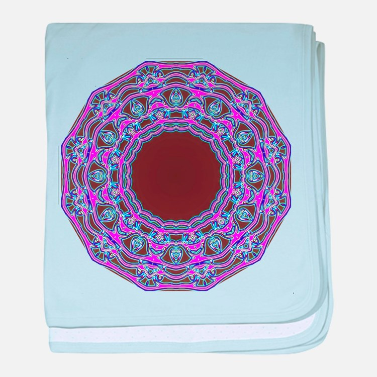 In The Pink Colorfoil Bandanna Kaleido baby blanke