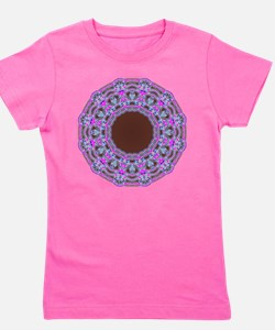 In The Pink Colorfoil Bandanna Kaleido Girl's Tee