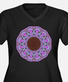 In The Pink Colorfoil Bandanna Kaleido Plus Size T
