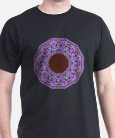 In The Pink Colorfoil Bandanna Kaleido T-Shirt