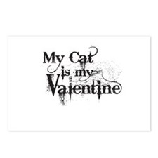 My Cat is My Valentine Postcards (Package of 8)