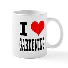 I Heart (Love) Gardening Mug