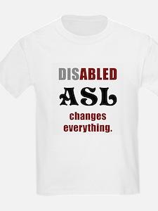 Unique Deaf culture T-Shirt