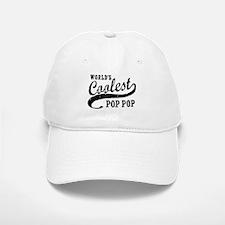 World's Coolest Pop Pop Baseball Baseball Cap