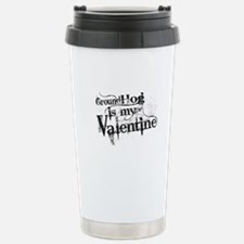 Ground Hog is My Valentine Travel Mug