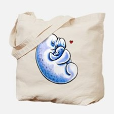 Manatee Mothers Love Tote Bag