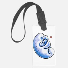 Manatee Mothers Love Luggage Tag