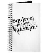 Squirrel is My Valentine Journal