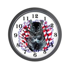 Chinny Patriot Wall Clock
