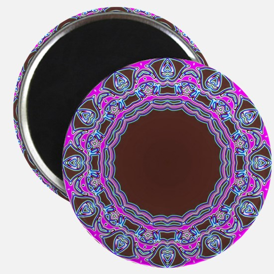 In The Pink Colorfoil Bandanna Kaleido Magnets
