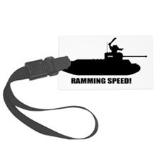 Ramming Speed Luggage Tag