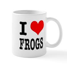 I Heart (Love) Frogs Mug