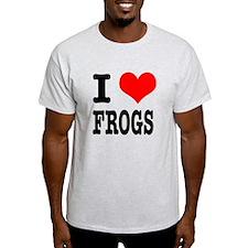 I Heart (Love) Frogs T-Shirt