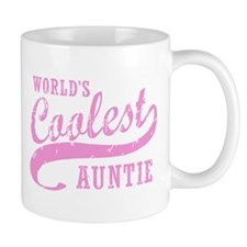 World's Coolest Auntie Small Mug
