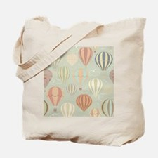 Vintage Hot Air Balloons Tote Bag