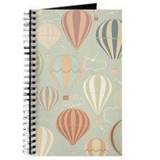 Vintage Hot Air Balloons Journal