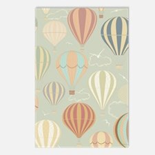 Vintage Hot Air Balloons Postcards (Package of 8)