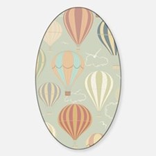 Vintage Hot Air Balloons Decal